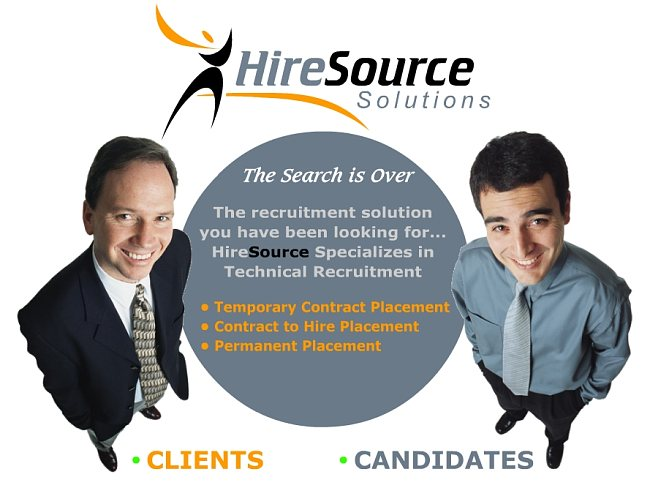 Hire Source Solutions specializes in technical recruitment